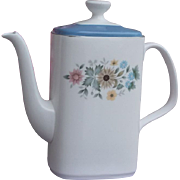 Royal Doulton Pastorale China Coffee Pot #H5002