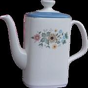 Royal Doulton Pastorale China Coffee Pot #H5002