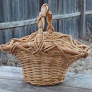 SALE Old Vine Garden and Flower Gathering Basket