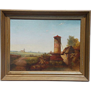 Fabulous Oil on Canvas Original Antique Estate Find Painting