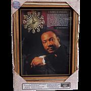 SALE Vintage NIB Dr. Martin Luther King Jr. Clock