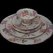 8 sets Vintage Castleton Sonnybrooke China 5 piece, 8 sets offered