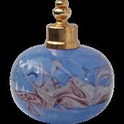 SALE Vintage Art Glass Perfume Shaker Bottle