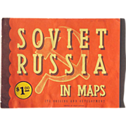 SALE 1944 Soviet Russia in Maps It's Origins and Development