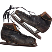 SALE 1930's Alfred Johnson Racing Skates