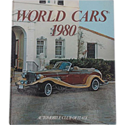 SALE World Cars 1980 Automobile Club of Italy Herald Books