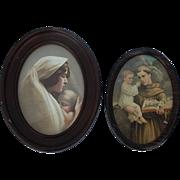 SALE Vintage Religious Lithographs