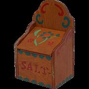 SALE Classic 50's Shop Class Built and Painted Salt Box