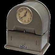 SALE Vintage Simplex Time Recorder Co Time Clock