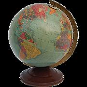 SALE c1948 Vintage Replogle 10 inch Precision Globe Gustav Brueckmann Cartographer