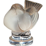 Lalique Art Glass Sparrow