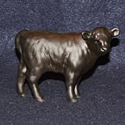 Very Rare Beswick Aberdeen Angus Black Calf Matt Finish Figurine