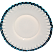 Fenton Aqua Crest Salad Plate(s)