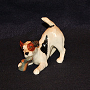 Royal Doulton Terrier with Slipper