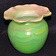Terry Crider Art Glass Vase