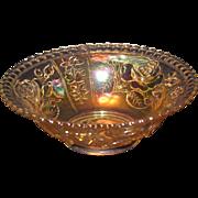 SALE PENDING Imperial Rose Carnival Bowl