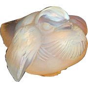 SALE PENDING Sabino Art Glass Bird Figurine