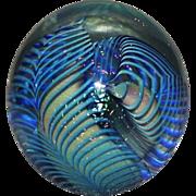 SOLD Eickholt Art Glass Paperweight