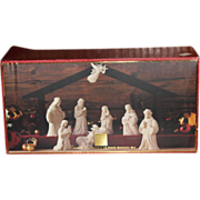 Lenox Nativity Commemorate Set in Box 10 Pieces