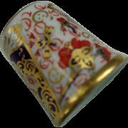 Royal Crown Derby Thimble Imari Pattern
