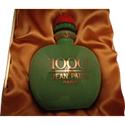 Vintage Jean Patou '1000 Karats' Pure Parfum in sealed custom bottle/case