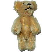 "SALE 2 3/4"" Miniature Blonde Mohair Schuco Teddy Bear"