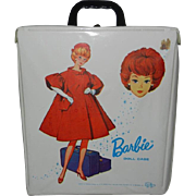 1963 Mattel Barbie White Shiny Vinyl Doll Case