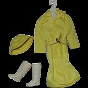 1963 Mattel Barbie Outfit #949 Rain Coat