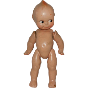 Rose O'Neill Cameo Composition Kewpie Doll