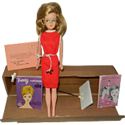 1960's American Character Tressy in Original Box with Key