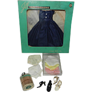 SOLD 1957 Lot for Vogue Jill #7505 Outfit in Box, High Heels, Stockings & Panties