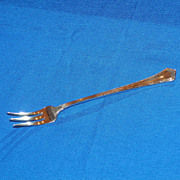 Relish Fork. Wallace Sterling Silver. Circa 1913.