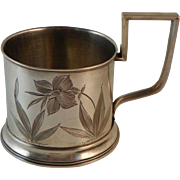 Russian Silver Tea Glass Holder 1896-1909