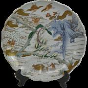 Japanese Imari Charger.  19th Century.