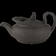 Teapot.  Wedgwood Black Basalt.