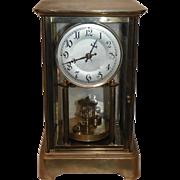 German Anniversary Clock Circa 1910