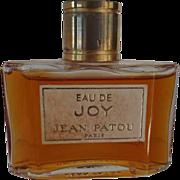 SOLD Vintage Jean Patou EAU DE JOY Perfume Paris