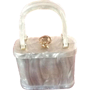 VIntage Lucite Box Handbag by Stylecraft of Miami