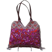 Vintage Jamin Puech Evening Purse with Sequins and Beading