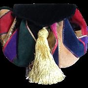 VIntage Drawstring Handbag Italy Neiman Marcus