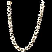 Vintage Givenchy Chunky Statement Choker Necklace