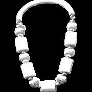 SALE VIntage Judith Hendler Lucite Necklace-Never Worn