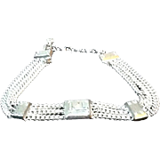 VIntage Karl Lagerfeld Edgy Collar Necklace