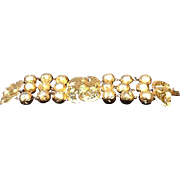 OUTRAGEOUS Vintage Statement Bracelet by Lanvin