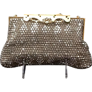 Vintage Rosenfeld Rhinestone Encrusted Evening Purse with Ornate Frame in Original Box***Never