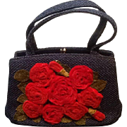 Vintage J.R. Florida Daytime Woven Handbag