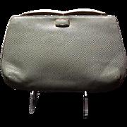 Vintage Leiber Karung  Reptile Dressy Day Bag