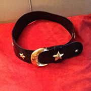 SALE Vintage Glenn Miller for Ann Turk Designer Statement Belt