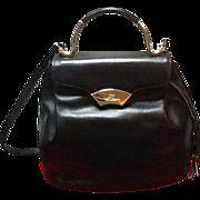 SALE PENDING *SALE***Vintage Karl Lagerfeld Iconic Leather Handbagg