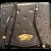 SALE PENDING VIntage Karl Lagerfeld Pebble Leather Handbag